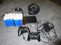 playstation 2 slimline games and assesorys