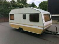 Caravan sprite 1981 vintage caravan . Dry van in good condition