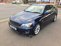 Lexus is200se £900 damage repairable, start and drives
