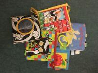 Bundle of soft baby books (Galt, Jellycat, Taggies etc.)