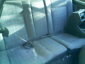 Mk2 Golf rear bech seat can also deliver.