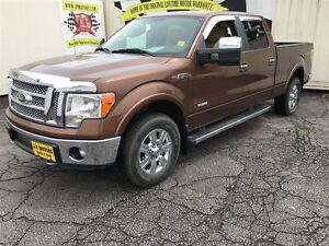 2012 Ford F-150 Lariat, Crew Cab, Leather, Heated Seats, 4x4