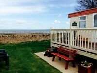 Seton Sands, SEA VIEW CARAVAN! Book your 2018 Holiday now!!!