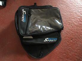 Motorbike accessories. OXFORD SPORT'S Motor bike luggage .