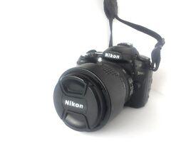 NIKON D90 with lens AF 18-105 VR KIT WITH BAG