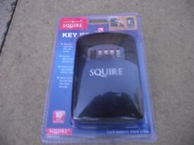 squire key safe b/n in unopened pack