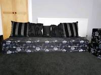 moroccan style sofa brand new 3 piece available