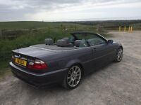 BMW E46 Convertible (years M.O.T)