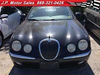 2004 Jaguar S-Type Automatic, Leather, Heated Seats,