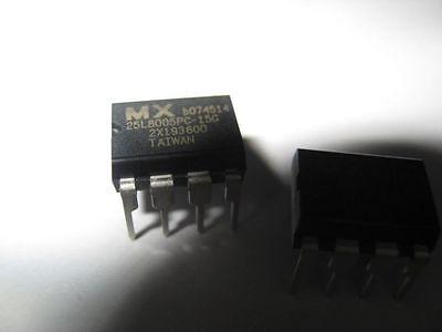 Mxic Mx25l8005pc-15g Dip-8 8m-bit X 1 Cmos