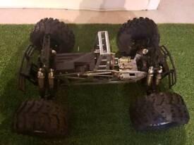 Schumacher Nanda Raptor rc nitro truck. 3 engines and spares!