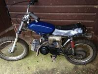 Puch magnum X , 50cc - 60cc juniors dirt bike