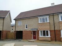 ** SPACIOUS and MODERN ** 3 bedroom UNFURNISHED semi detached house FOXGLOVE WAY