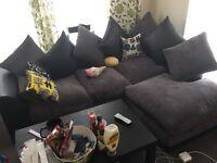 Brilliant modern corner sofa at bargain price
