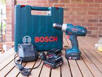 Bosch GSR 14.4v - Li professional cordless drill.