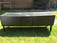 Black Ikea TV Sideboard unit - FREE - (Slight damage)
