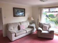 Beautiful 3 seater and single seater armchair - extremely comfy!