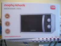 Morphy Richards Microwave 800W - Silver - Brand New