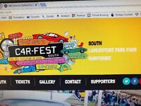 2 X CARFEST SOUTH WEEKEND CAMPING TICKETS