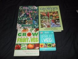 GARDENING BOOKS - FRUIT - VEG (LISTED TIL SOLD)