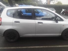 Honda Jazz s for sale 5 doors Hatchback petrol. Everyday use , milage as at today ,2 keys