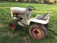 Bolens Husky 1256 Garden Tractor with Mower deck, Tiller, Snowblade and Tow hitch