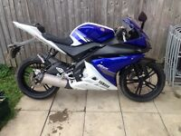 R125 long mot no offers or messers