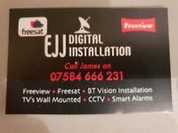 CCTV/Alarm installs, Aerial and Satellite instals Glasgow/Ayrshire