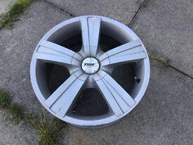 """TSW Attitude metal 5 spoke 18"""" Alloy Wheels Rims - Set of 4"""