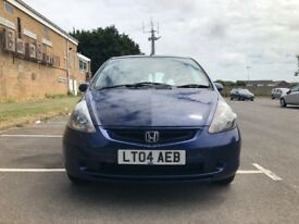 Honda Jazz 1.4 i-DSI SE CVT-7 5dr£1,695 p/x welcome Cheap to maintain and run 2004 ,100,000 miles