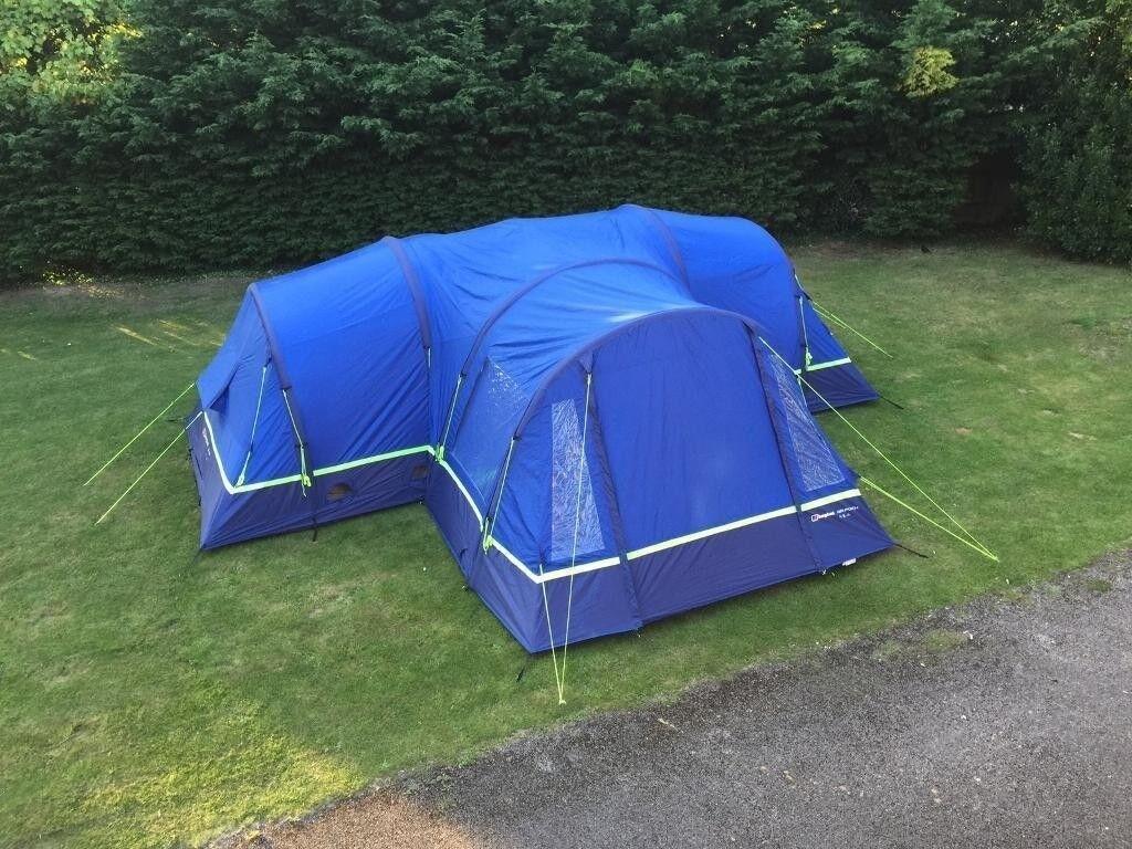 03d5233e60f Berghaus 8 man air Tent with Footprint
