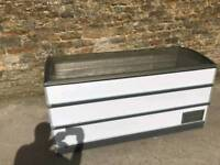 Display chest freezer used condition size 1700mm x 700