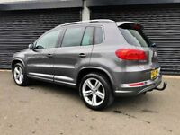 2013 VOLKSWAGEN TIGUAN 2.0 TDI 140 R LINE 4MOTION NOT KUGA CR-V QASHQAI AUI Q3 Q5 GOLF 4WD BMW X1 X3