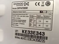 DAEWOO DFF470SW Fridge Freezer – White