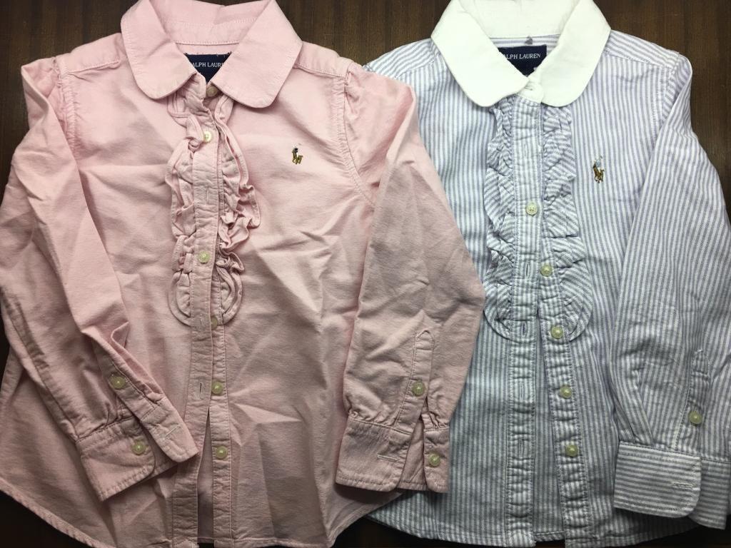 Girls Ralph Lauren shirts