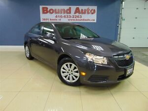 2011 Chevrolet Cruze LT, TURBO, POWER GROUP, ACCIDENT FREE