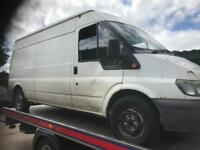 TRANSIT VAN - SPARES OR REPAIR
