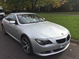 2008/58 BMW 6 SERIES 635D 3.0 SPORT AUTO 2 DOOR COUPE