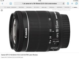 Canon efs 18-135 mm is stm lens