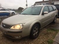 04 Ford Mondeo 2.0 tdci, GREAT SPEC!!!!