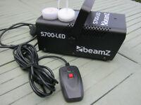 BEAMZ S700 SMOKE MACHINE brand new never used