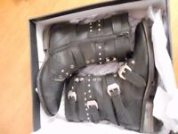 Leather Firetrap Naylor Ladies Boots Uk 7