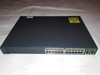 Cisco 2960 PoE 24 Switch New