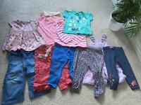 Bundle Job Lot Kids Clothes Baby Girl Toddler 12-18M Next TU F&F Mini B