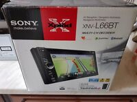 Sony XNV-L66BT TOM TOM SAT NAV MODULE AND ANTENNA