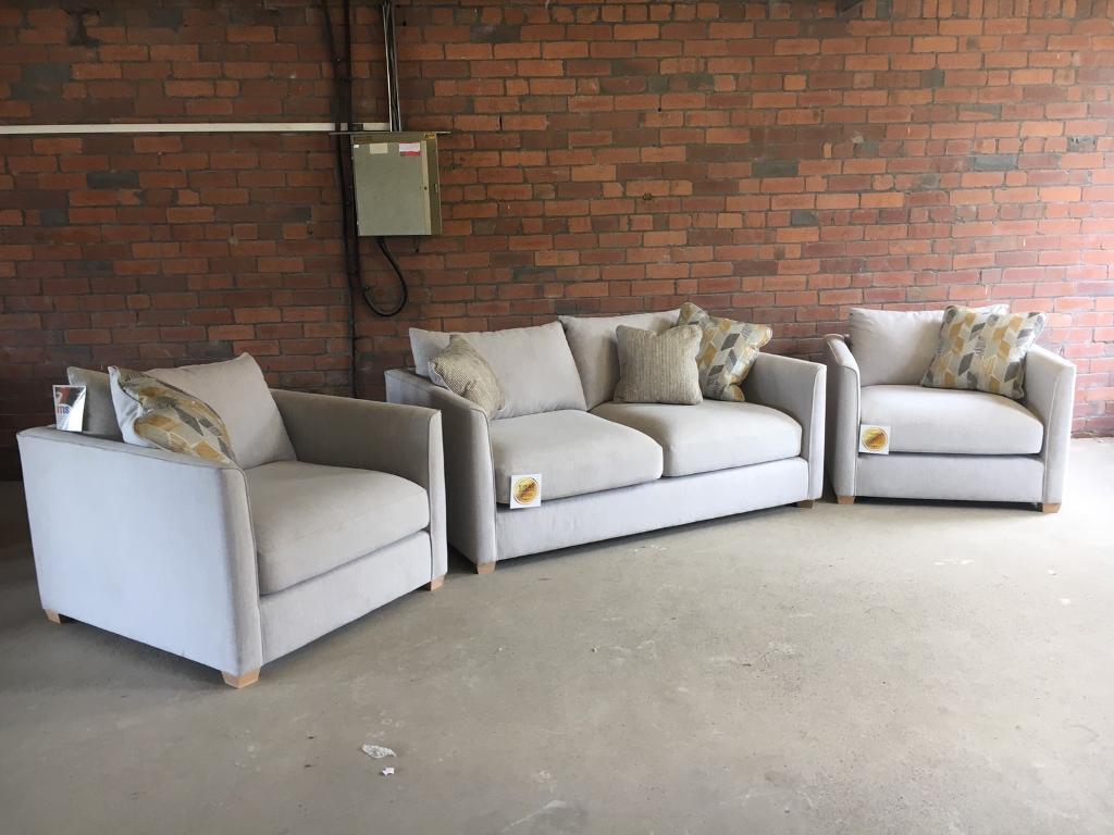Furniture Village Birstall new grey 2 seater sofa - furniture village - can deliver | in