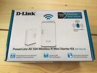 D Link Powerline AV 500 Wireless N starter kit (DHP-W311AV)