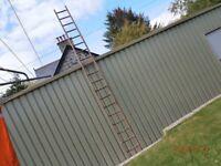15 Foot Wooden Ladder