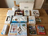 Nintendo Wii Bundle lots of accesories all in boxs all like new