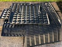 Genuine Audi Q5 Rubber Matts (Used but excellent Cond)